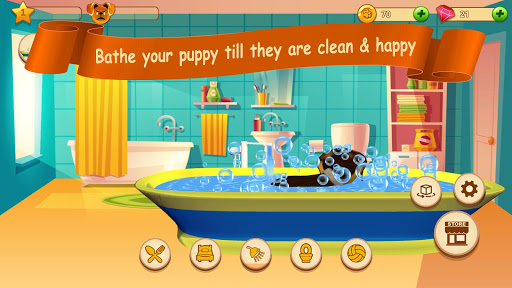 Cute Puppy Love Virtual Pet Care amp Dog Simulator 1.0.3 screenshots 2