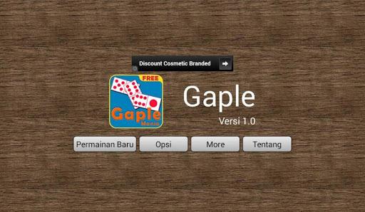 Gaple 1.3 screenshots 1