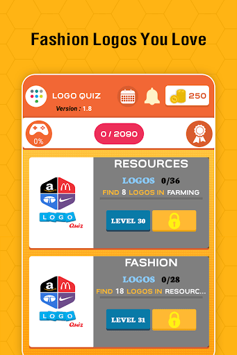 Logo Quiz Guess the Logo game Guess the Brand 2.6 screenshots 11