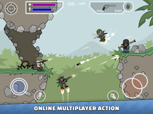 Mini Militia – Doodle Army 2 5.3.3 screenshots 8