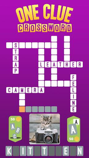 One Clue Crossword 4.03 screenshots 1