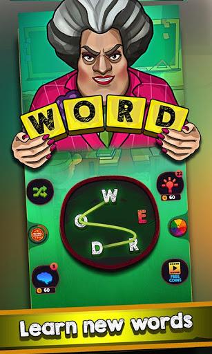 Scary Teacher Addictive Word Game 2.1 screenshots 1