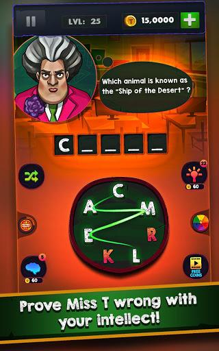 Scary Teacher Addictive Word Game 2.1 screenshots 8