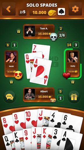Spades -Batak HD Online 40 screenshots 1