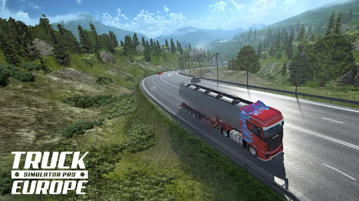 Truck Simulator PRO Europe 1.2 screenshots 1