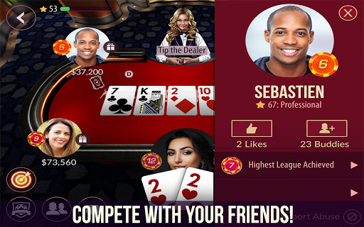 Zynga Poker Free Texas Holdem Online Card Games 21.99 screenshots 2