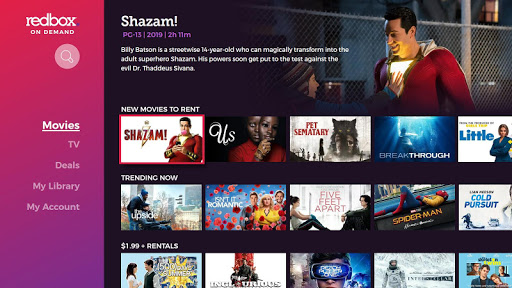Redbox for Android TV 2.3.0.610 screenshots 2