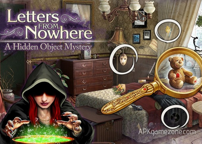 Letters From Nowhere A Hidden Object Mystery Money Mod APK