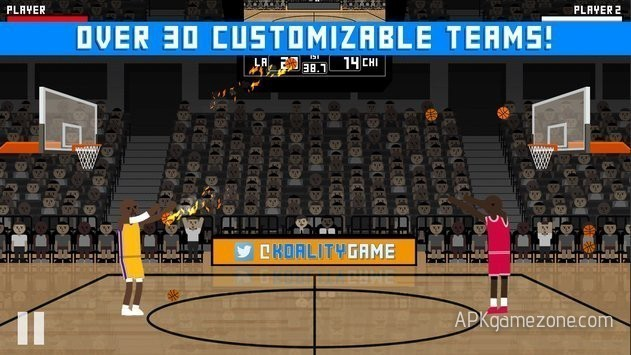 Hardwood Rivals Basketball : Money Mod APK