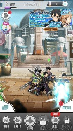Sword Art Online Memory Defrag APK Mod