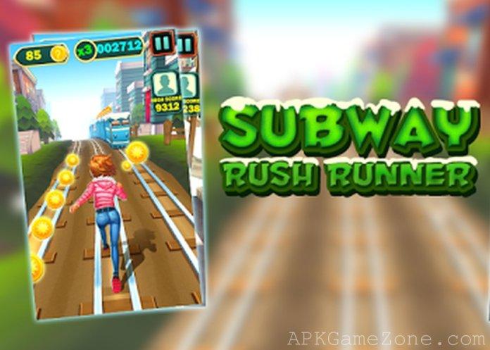 Subway Rush Runner APK Mod