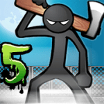 Anger of stick 5 zombie V 1.1.33 MOD APK