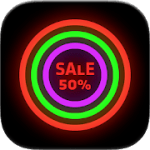 Neon Glow Icon Pack V 8.2.0 APK Patched