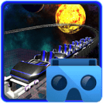 Space Roller Coaster VR Card Board V 1.2 APK Paid
