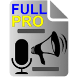 Voice to Text Text to Voice FULL PRO V 14.4 APK Paid
