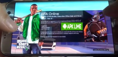 GTA V APK + DATA APKLIME