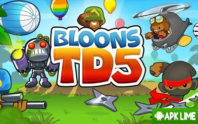 Bloons TD 5 APK Bloons Tower Defense 5