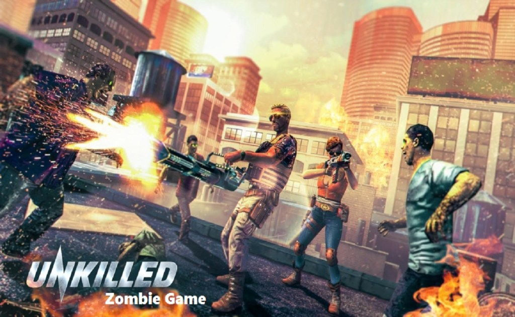 Screenshot of UNKILLED Zombie Game