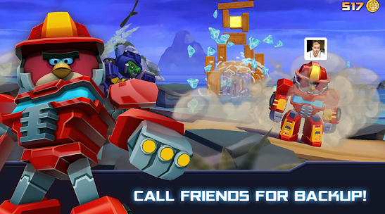 Angry Birds Transformers v1.38.1 Mod Money Unlock Apk Free Download