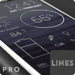 Lines – Icon Pack (Pro Version) v3.0.2 [Patched] APK [Latest]