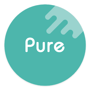 Pure – Icon Pack ( Flat Design ) v7.02 Light Snow [Patched] APK [Latest]