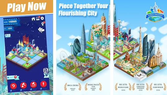 World Creator 2048 Puzzle Battle v2.5.2 Mod Money Apk Free Download