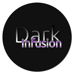 Dark Infusion Substratum Theme for Android N & O