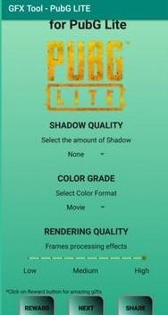 GFX Tool for PUBG Lite Screenshot