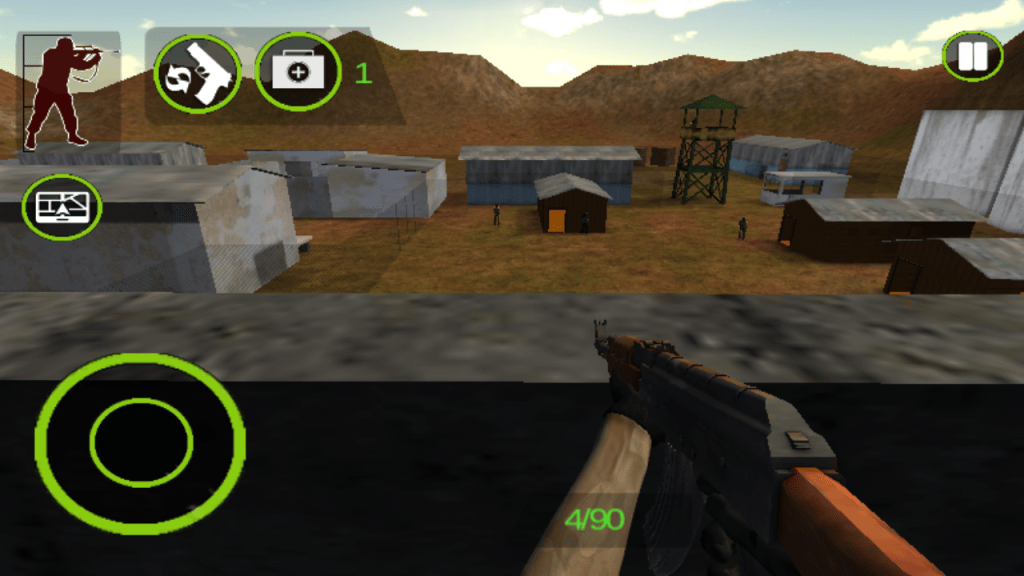 Project IGI Shooting with AK47 Screenshot