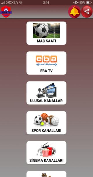 Screenshot of Kacak TV