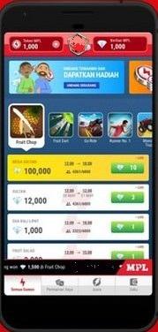 Screenshot of MPL App