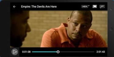 Screenshot of Vudu TV