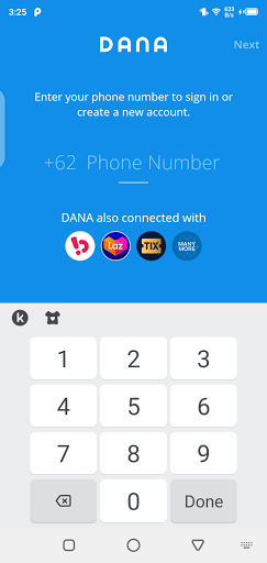 Screenshot of Get Dana Apk