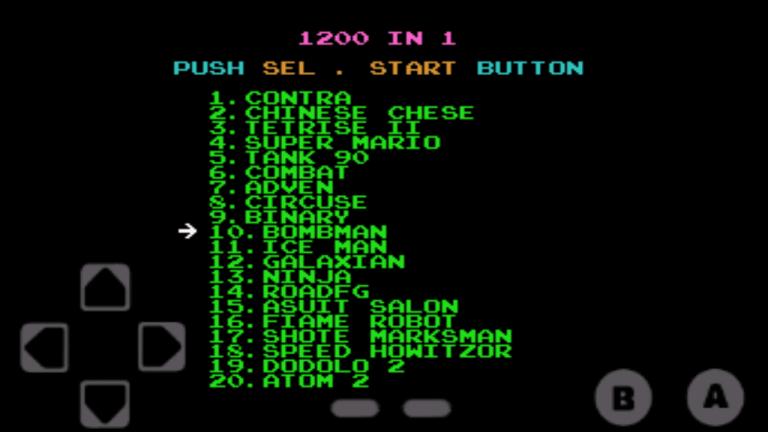 Screenshot of 1200 games in 1 Apk