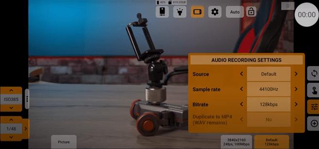 Screenshot of Mcpro24fps App