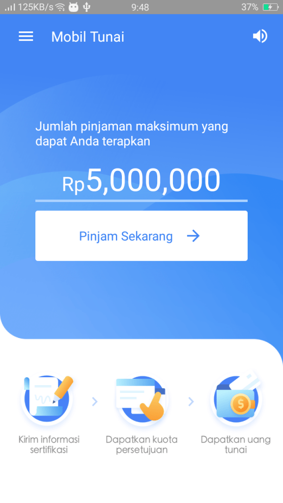 Screenshot of Mobil Tunai Apk