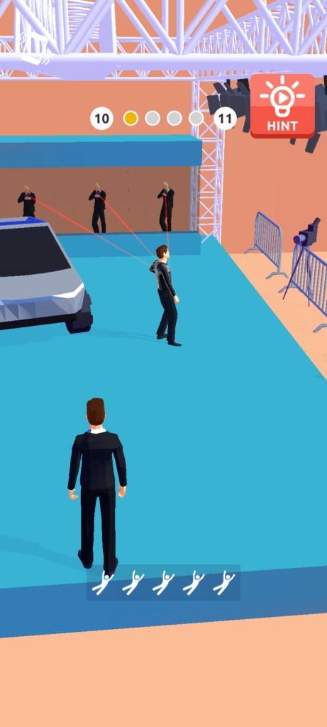 Screenshot of VIP Guard Game