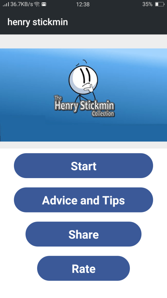 Screenshot of Henry Stickmin Collection Apk