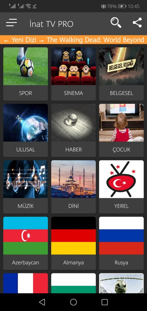 Screenshot of Inat Pro Apk