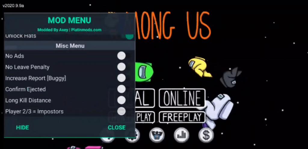 Screenshot of Among Us Naruto For Androidjpg