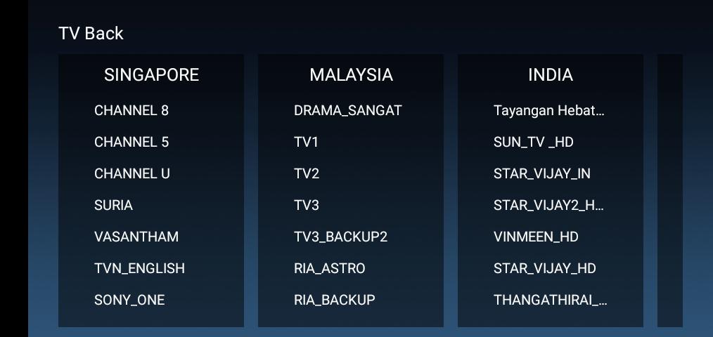 Screenshot of SyberTV VVIP Passoword