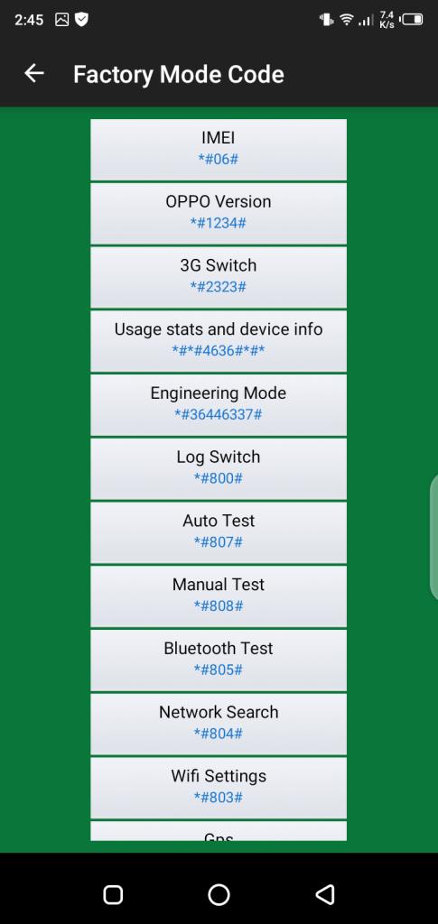 Screenshot of Oppo Tools Apk