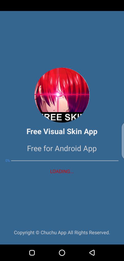 Screenshot of Visual Skin ML Apk