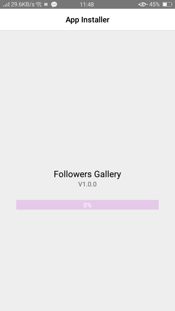 Screenshot of Followers Gallery For Android