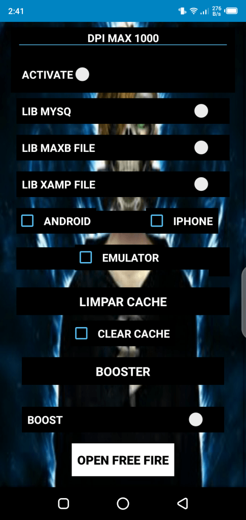 Screenshot of REGEDIT Pro FF Apk