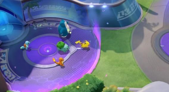 Screenshot of Pokemon Unite Apk