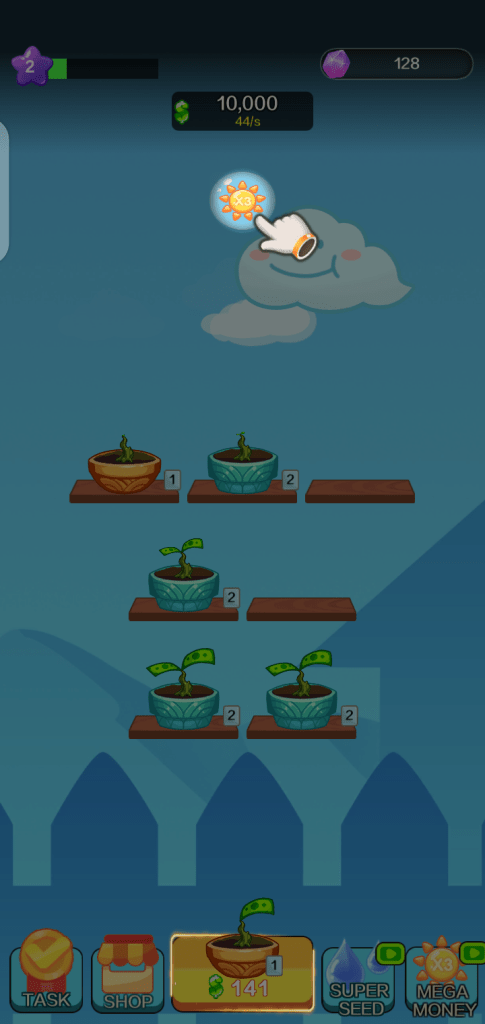 Screenshot of Money Garden Apk