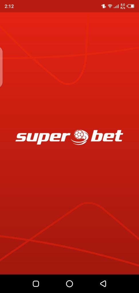 Screenshot of SuperBet Android