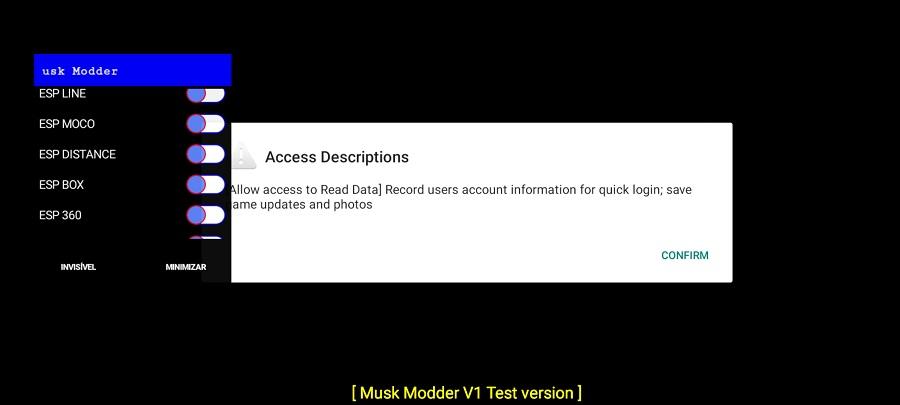 Screeenshot of Musk Mod Free Fire
