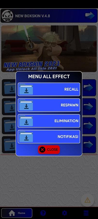 Screenshot of Skin Custom Anime Injector